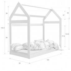 Bēŗnu gulta DOMEK 1608 N