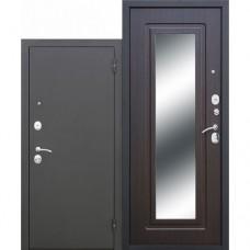 Metāla durvis ar MDF apdari un spoguli Classic mirror