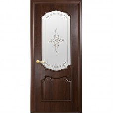 PVC Deluxe durvis ROKA Kastanis