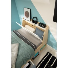 Bērnu gulta ar veļaskasti STEP ST11