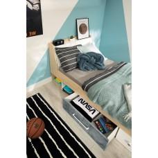 Bērnu gulta ar veļaskasti STEP ST12