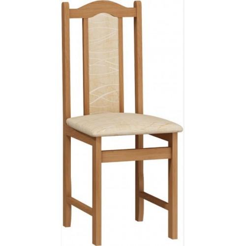 Koka krēsls ar atzveltni Krzesło A