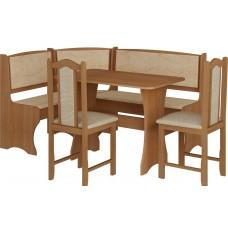 Virtuves stūra komplekts ZESTAW ar krēsliem
