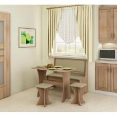 Virtuves komplekts ZESTAW ar taburetēm