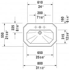 Izlietne 1930,36.5cmx50cm