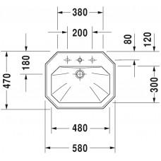Izlietne 1930,45cmx59.5cm