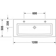 Izlietne 2Nd Floor,50.5cmx120cm