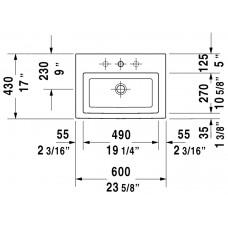 Izlietne 2Nd Floor,50cmx80cm