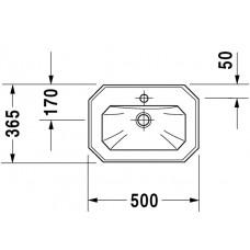 Izlietne 1930,47cmx58cm