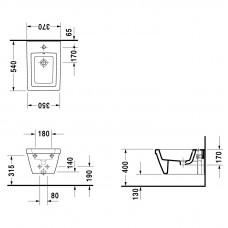 Bidē 2Nd Floor,54cmx37cm