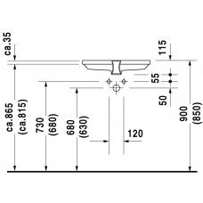 Izlietne 2Nd Floor,41.5cmx58cm