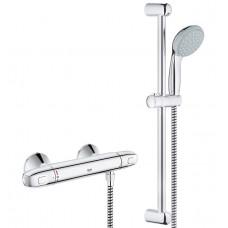 Dušas Termostats Grohetherm 1000 New Ar Dušas Komplektu 600 Mm