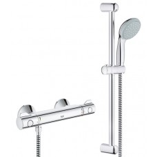 Dušas Termostats Grohetherm 800 Ar Dušas Komplektu 600 Mm60cm