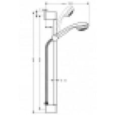 Dušas Komplekts Crometta 85 Mono/Unica`Crometta65cm