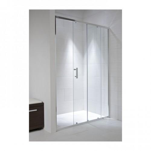 Dušas Durvis Cubito Pure, Spīdīgs Sudrabs/Arctic Stikls