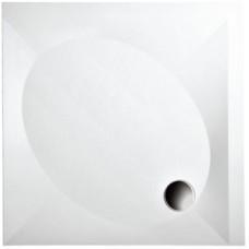 Dušas Vanniņa Art, 100cm, Balta