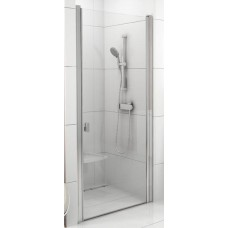Dušas Durvis Csd1, 80cm, Satīns/Caurspīdīgs Stikls