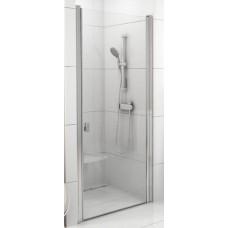 Dušas Durvis Csd1, 90cm, Satīns/Caurspīdīgs Stikls