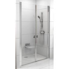Dušas Durvis Csd2, 100cm, Spīdīgs/Caurspīdīgs Stikls