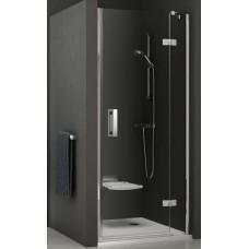 Dušas Durvis Smsd2 B, 90cm, Hroms/Caurspīdīgs