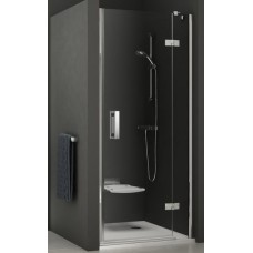 Dušas Durvis Smsd2 A, 100cm, Hroms/Caurspīdīgs