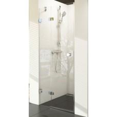 Dušas Durvis Bsd2, 90cm, Hroms/Caurspīdīgs