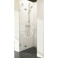 Dušas Durvis Bsd2, 100cm, Hroms/Caurspīdīgs