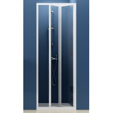 Dušas Durvis Sdz2, 70cm, Balts/Caurspīdīgs Stikls