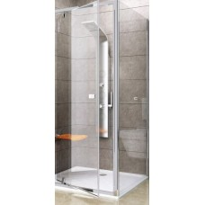 Dušas Siena Pps, 90cm, Spīdīgs/Caurspīdīgs Stikls