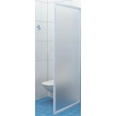 Dušas Siena Dss, 80cm,  Balts/Grape Stikls