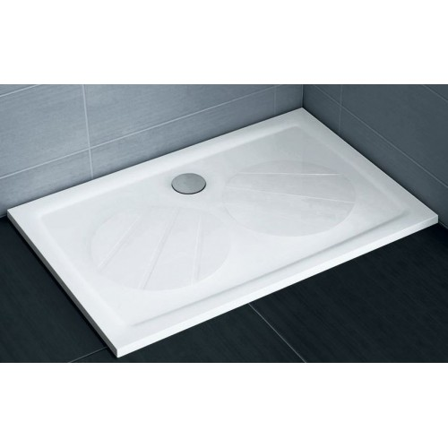 Dušas Vanniņa Gigant Pro,100cmx80cm,Balta