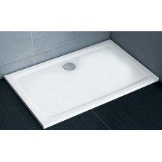 Dušas Vanniņa Gigant Pro Flat, 100cmx80cm, Balta