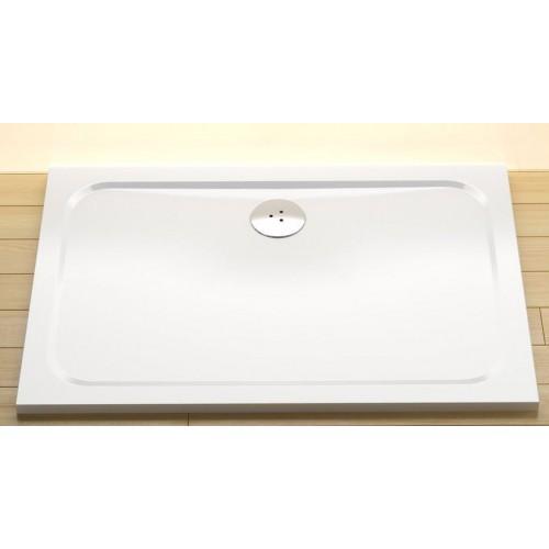 Dušas Vanniņa Gigant Pro Chrome, 110cmx80cm, Balta