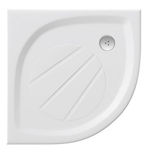 Dušas Vanniņa Elipso Pro, 80cmx80cm, Balta