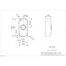 Virtuves Izlietne L18 4018 Kg (L),42.4cmx20.4cm