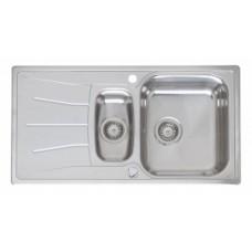 Virtuves Izlietne Diplomat 1.5 Eco (R) 50x95cm