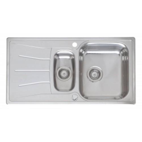 Virtuves Izlietne Diplomat 1.5 Eco (R),50cmx95cm