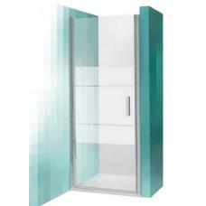 Dušas Durvis Tcn1, matēts sudrabs/caurspīdīgs stikls