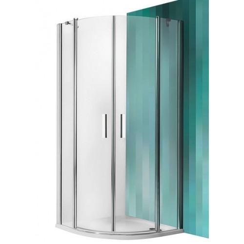 Dušas Stūris Tr2,80cmx80cm, briliants/caurspīdīgs stikls