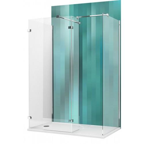 Dušas Stūris Walk E,90cmx150cm, briliants/caurspīdīgs stikls