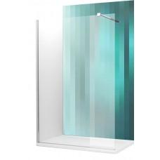 Dušas Stūris Walk G100cm, briliants/caurspīdīgs stikls