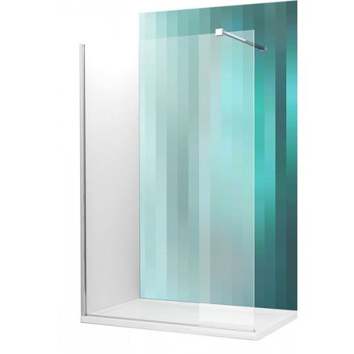 Dušas Stūris Walk G150cm, briliants/caurspīdīgs stikls
