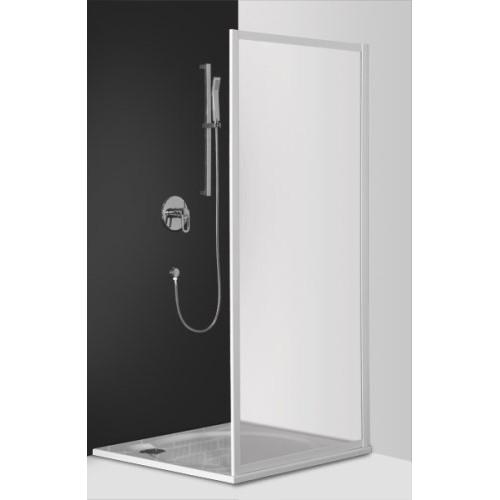 Dušas Siena Amb90cm, briliants/caurspīdīgs stikls
