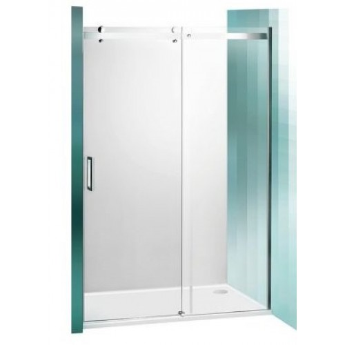 Dušas Durvis Amd2, briliants/caurspīdīgs stikls