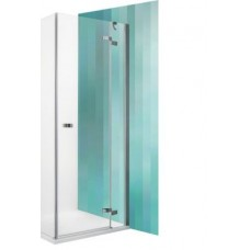 Dušas Durvis Gdop1,  briliants/caurspīdīgs stikls