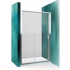 Dušas Durvis Lld2,  briliants/caurspīdīgs stikls