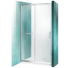 Dušas Durvis Pxd2N,  briliants/caurspīdīgs stikls