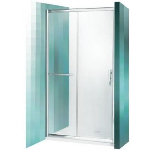 Dušas Durvis Pxd2N, briliants/satīna stikls