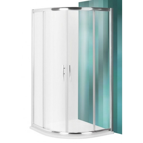 Dušas Stūris Pxr2N,100cmx100cm, briliants/caurspīdīgs stikls