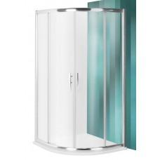 Dušas Stūris Pxr2N,80cmx80cm, briliants/caurspīdīgs stikls